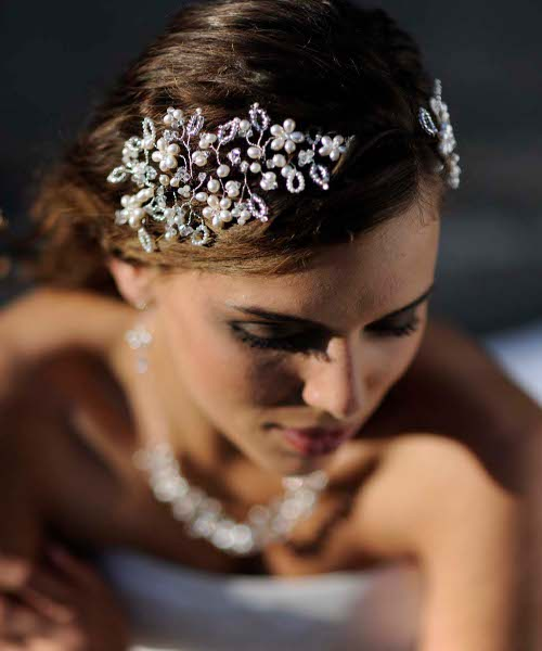 Украшение на голову на свадьбу